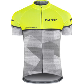 Northwave Origin SS Jersey Men yellow fluo/grey